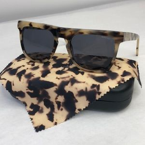 KOMONO Bennet Ivory Demi Sunglasses (NEW) 🕶
